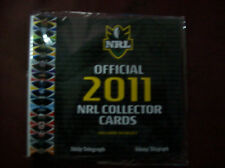 2011 Official Daily Telegraph NRL Collector Cards Folder