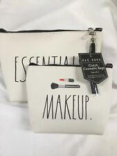 Rae Dunn Clutch Cosmetic Bags Set