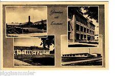 Groeten uit Emmen AK 1958 Lyceum Multi-vue Niederlande Nederland 1506299