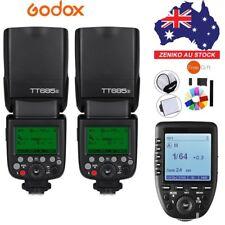 AU 2* Godox TT685S 2.4G HSS TTL II GN60 Flash + Xpro-S Wireless Trigger For Sony