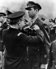 New 11x14 World War II Photo: Actor and Colonel Jimmy Stewart Receives Medal