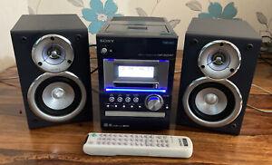 Sony CMT-M333NT Minidisc Cassette CD Radio Hi-Fi Stereo Net MD USB PC Connection