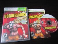 Borderlands Microsoft Xbox 360 Complete CIB VERY Fast Shipping Worldwide!!!