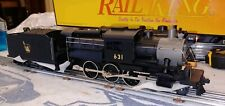 MTH, Jersey Central Camelback 4-6-0 Steam Engine #30-1141-0 Proto Sound *Tested*