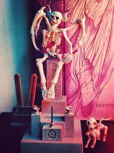 Rare Pose·Skeleton Oni·(Non Human) Vol.1, Re·Ment, Ships From U.S.A. Priority!
