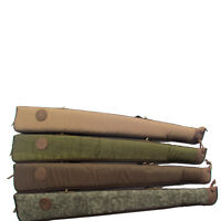 Shotgun Soft Case Gun Slip Bags Vintage Hunting Canvas Tactical Padded Shooting