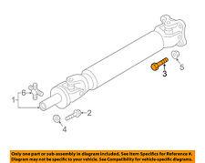 NISSAN OEM 16-18 Titan XD Front Suspension-Drive Shaft Rear Bolt 37120EZ00B