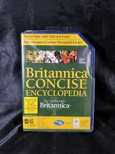 Britannica Concise Encyclopedia For Palm OS Sealed Free Card Caddy Inside 3650