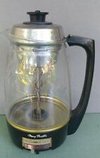 11 Cup Proctor Silex Atomic Starburst 01932 Electric Automatic Glass Percolator
