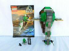 Lego Star Wars 7144 Slave 1 - 100% Complete (no box) - Boba Fett Han Solo