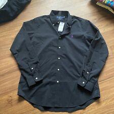 Nwt Black Polo Ralph Lauren Button Down Oxford Shirt