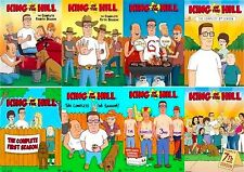 King of the Hill 1 2 3 4 5 6 7 8 Season DVD Series TV Show Animated Bundle Lot 0