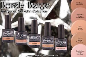 Tammy Taylor Nails Soak off Gel color -  Barely Beige Collection