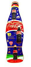 "COCA COLA BALLON ""SPECIAL SHAPE"" Pin / Pins - FLASCHE blau / 3 PINS!!!!!! [3706]"