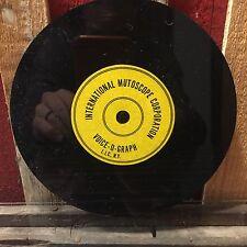Blank 45 Vinyl Record Lathe Rek-O-Kut Old New Stock