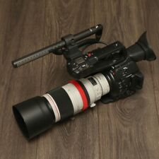 Canon C100 Mark II Shotgun Microphone Mount Professional Flexible Sleeve Adapter