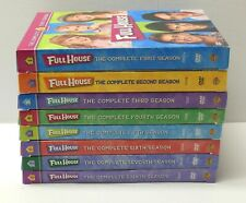 FULL HOUSE THE COMPLETE TV SERIES DVD Lot Seasons 1 - 8 TESTED FAST SHIP VG Cond