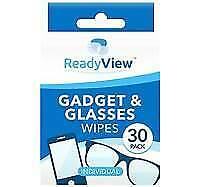 30 X Optical Spectacle Glasses Glass Lens Monitor Smear Cleaning Wipes OTL