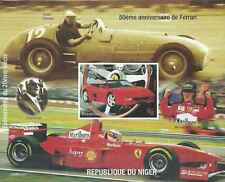 Timbre Voitures Ferrari Niger BF107 ** non dentelé année 1998 (30233)