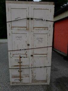 White Antique Storage Cabinets For Sale Ebay