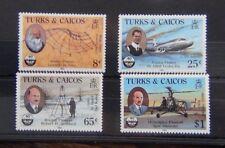 Turks & Caicos Islands 1985 Civil Aviation set MNH
