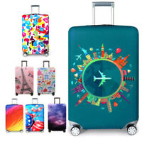 """18""""~32"""" Protective Suitcase Travel Luggage Cover Cartoon Trolley Case Dust Cover"""