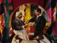 A Toast To Bonnie Blue Gone with the Wind Golden Anniversary Plate Box Coa #Bb2