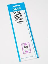 DAVO CRISTAL STROKEN MOUNTS C46 (215 x 50) 18 STK/PCS