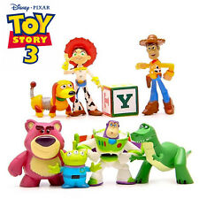 8pcs Disney Toy Story Action Figure Cake Topper Decor Display Figurines Kid Toy