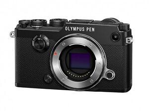 Olympus PEN-F 20.3MP Digital Camera - Black (Body Only)