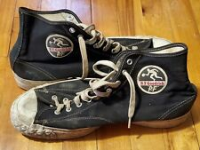 Vintage Pf Flyers Canvas Basketball Shoes Sneakers Bf Goodrich Athletic 12 Rare