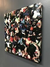Tudor Electric Football Canvas Wall Art