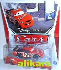 B - NO STALL - Piston Cup Series, Racer No 123, Disney Pixar Die-cast new toy