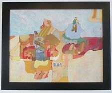MICHAEL DORMER (b.1935) LISTED ABSTRACT POP ART MODERNISM SURREALISM PAINTING