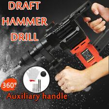 Demolition Jackhammer 3 in1 Concrete Electric Hammer Breaker Drill Chisel  u&%