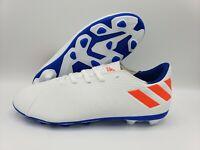 Adidas Nemeziz Messi 19.4 Kids FGSoccer Cleats Size 6 White/Blue F99931