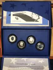 2014 50TH Anniversary Kennedy Half Dollar Silver 4 Coin Presentation Set OGP/COA