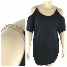 INC International Concepts Top Women Plus 3X Thin Knit Round Neck Short Sleeve