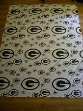 Green Bay Packers Bedding Sheet Set Full Fitted Flat Pillow Case White Green NFL
