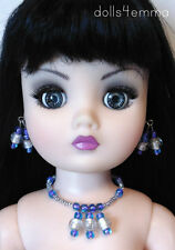 "OOAK 21"" CISSY DOLL JEWELRY *OCEAN* may fit other large fashion dolls - NO DOLL"