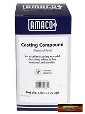 M00163 MOREZMORE 5 lb Amaco Pottery Plaster of Paris Mold Casting Compound DWS