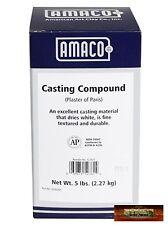 M00163 MOREZMORE 5 lb Amaco Pottery Plaster of Paris Mold Casting Compound DWS