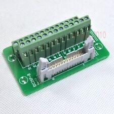 "IDC26 2x13 26Pin 0.1"" 2.54mm Male Header Breakout Board Terminal Block Connector"