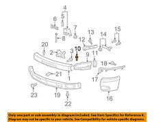GM OEM Front Bumper-Inner Bracket Bolt 11516845