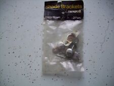 2 pair - Inside Mount Shade Brackets by Newell #12822