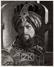 BORIS BILINSKY 4 Photos Gaston MODOT Mille et Deuxième Nuit COSTUMES Sultan 1933
