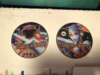 Williams JACKBOT Pinball Machine promo speaker cutouts coasters set Jack Bot