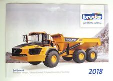 BRUDER Prospekt Katalog 2018 NEU advertising brochure prospectus catalogue NEW