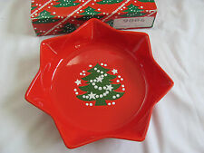 Waechtersbach Christmas Tree Red Germany - Star Candy Dish - Original Box