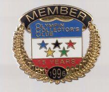 1996 Olympin Pin Collectors Club Olympic Pin Member Atlanta
